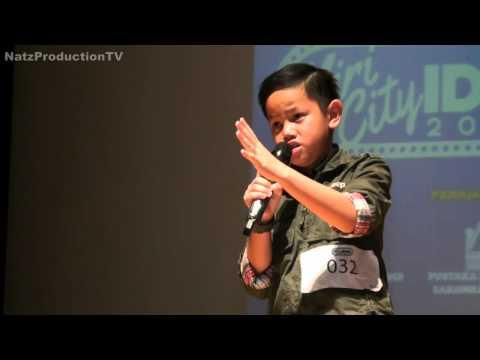 Fathurrahim - Patahnya Sayap Malam - Miri City Idol 2015 (Top 5 Junior)