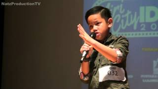 Fathurrahim Patahnya Sayap Malam Miri City Idol 2015 Top 5 Junior