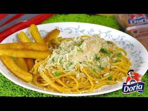 Spaghetti Doria Sabor Ranchero con Pollo y Perejil