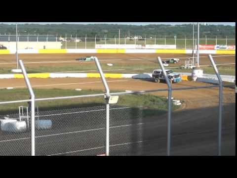 Kinzer Sport Mod Heat Race Outlaw Motor Speedway 5/10/14