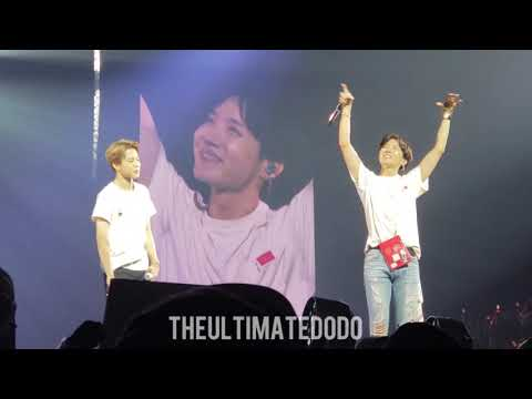 180922 Final Ment (Drake In My Feelings) @ BTS 방탄소년단 Love Yourself Tour in Hamilton Fancam 직캠