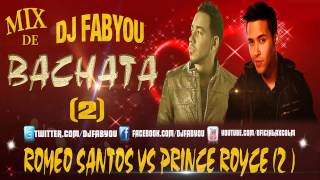 Mix De Bachata 2014 Prince Royce Y Romeo Santos (DJ FabYou)(Parte ll)(Temuco - Chile)