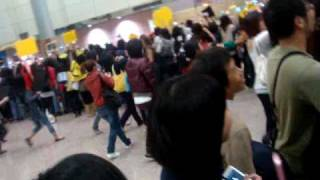 100226 FT ISLAND arrived  in Taiwan