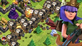 DEATH from ABOVE!  TH9 Dark Elixir Time | Clash of Clans