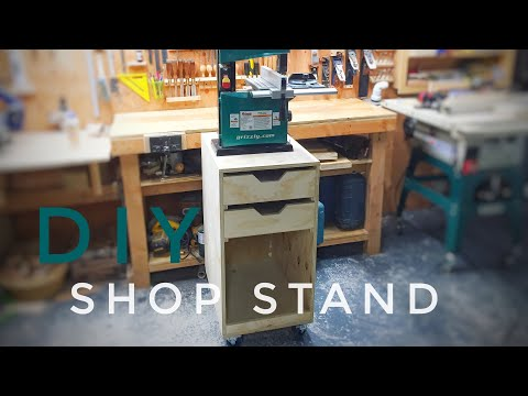 DIY Mobile Bandsaw Stand