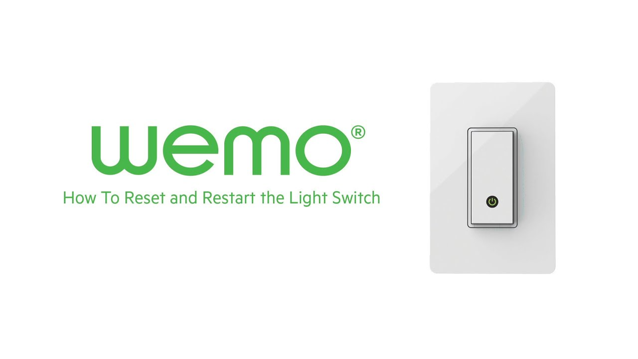 belkin official support manually restarting or resetting the wemo light switch [ 1280 x 720 Pixel ]