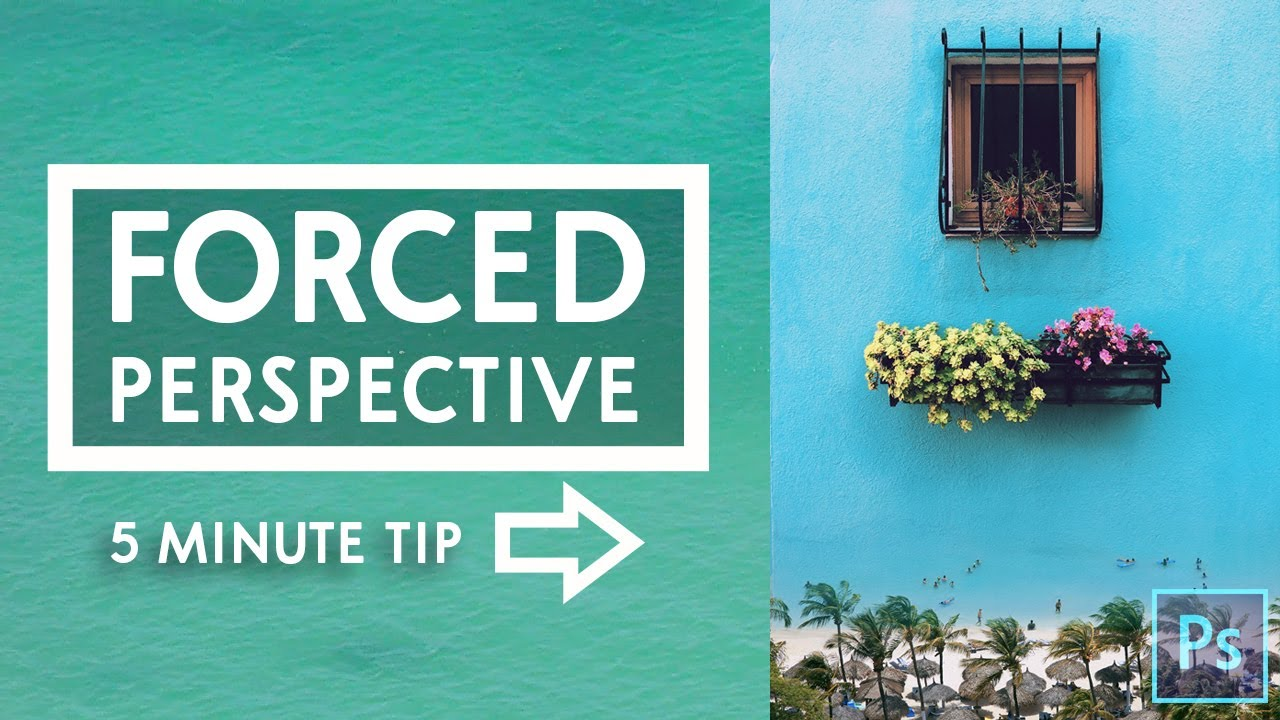 Photoshop Tutorial - Forced Perspective