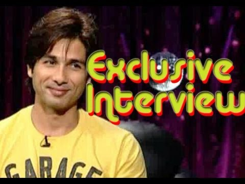 Shahid Kapoor: I am living the life that I want to live -  Exclusive interview