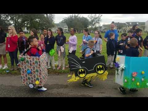 Belle Chasse Academy Kindergarten Parade 2019