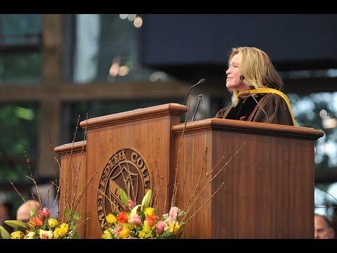 2016 Commencement Address -  NASA Chief Scientist Ellen Stofan