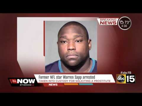 Warren Sapp Fired From NFL Network After Fight W/2 Prostitutes In Money Dispute At Phoenix Hotel