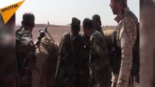 """شاهد كيف يمتص الجيش السوري هجمات """"داعش"""""""
