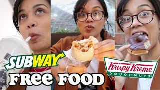 i only ate FREE FOOD in LONDON for 24 hours | clickfortaz