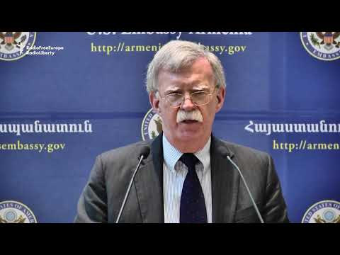 Bolton: After Elections, 'No Better Time' For Armenia To Res