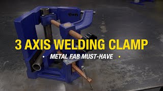 3 Axis Welding Clamp - MUST-HAVE Vise for Welding & Fabrication - Eastwood