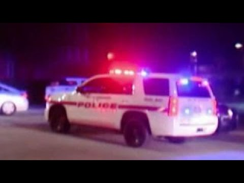 Police search for suspect after...