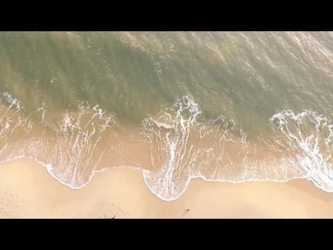 DJI captures moring at the beach