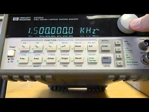 15 Hewlett Packard 33120a Function Generator Repair Doovi