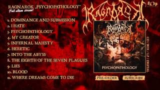 RAGNAROK - Psychopathology (Official Album Stream)