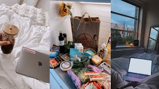 first days in NYC! grocery haul, apartment updates + exploring