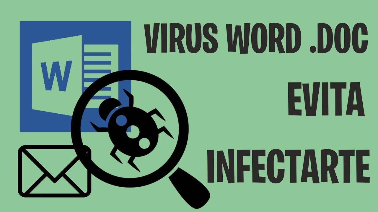 Virus Documento Word .DOC eMail. Evita ser infectado - YouTube