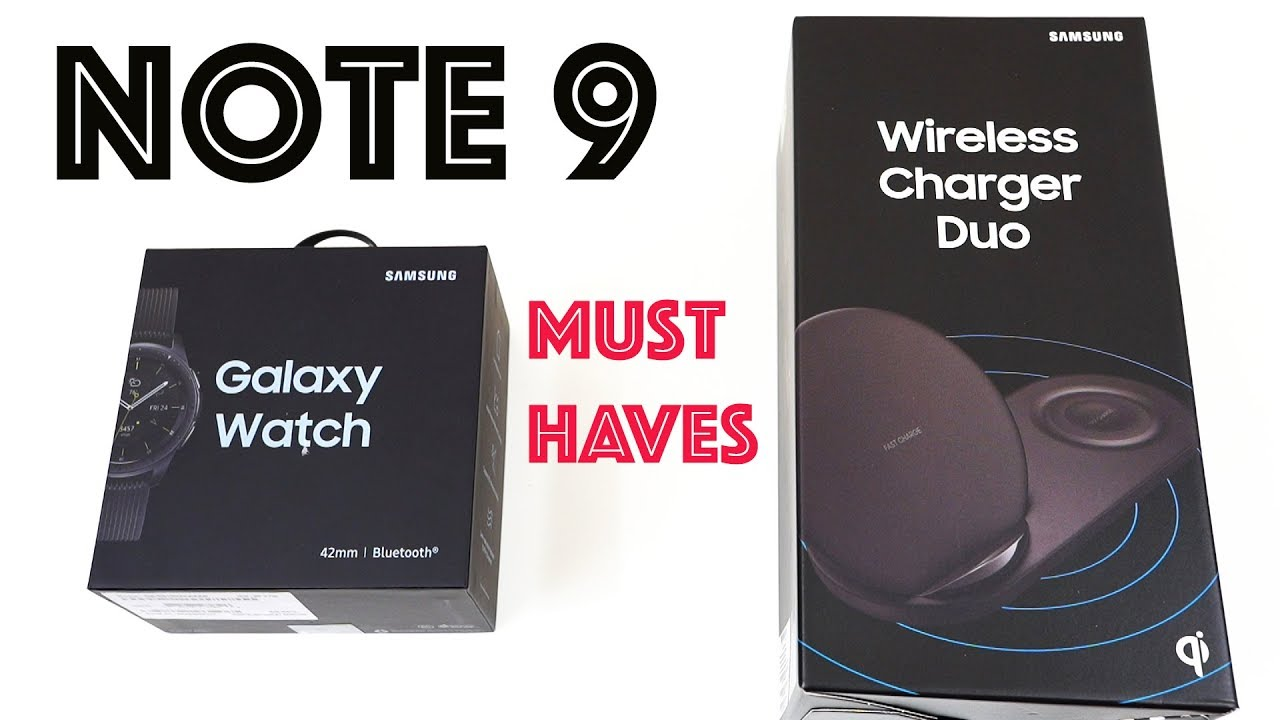 Galaxy Note 9 Must Have Accessories Links In Description Youtube