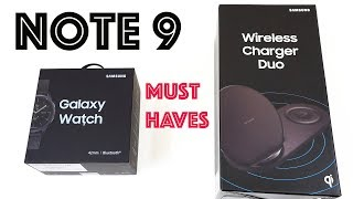 Galaxy Note 9 Must Have Accessories (Links in Description!)