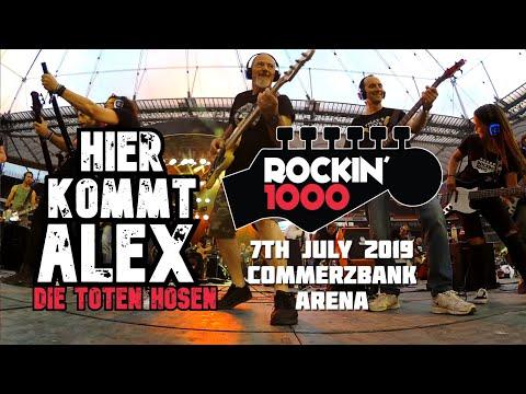 überlegene Leistung exklusives Sortiment großer rabatt von 2019 Hier Kommt Alex - Die Toten Hosen - Rockin'1000 - Frankfurt ...