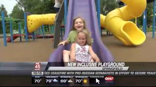 New Inclusive Playground Opens For Kids Of All Abilities