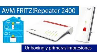 AVM FRITZ!Repeater 2400: Repetidor Wi-Fi Mesh de gama alta