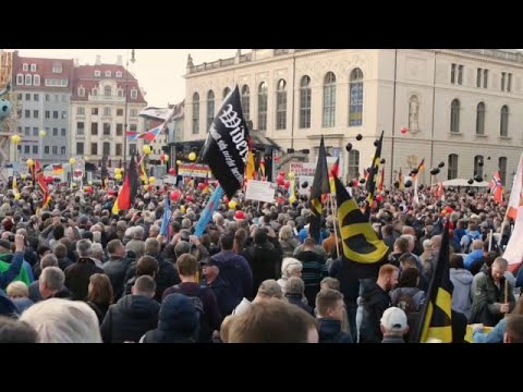 شاهد: مظاهرة لليمين المتطرف وأخرى مناوئة لها في شوارع درسدن الألمانية…  - نشر قبل 5 ساعة