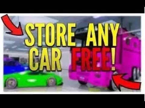 GTA 5 - HOW TO STORE ANY CAR IN YOUR GARAGE FREE! (GTA 5 ONLINE GLITCHES)