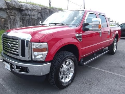 2010 FORD F-250 CREW CAB LARIAT 4X4 32K 6.4 DIESEL FX4 OFFROAD CERTIFIED LOADED 888-439-1265