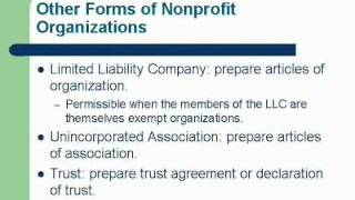 Legal Essentials of Starting a Nonprofit Organization