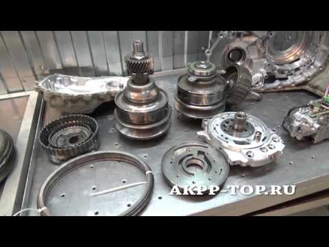Фото к видео: Ремонт вариатора Ниссан Мурано CVT RE0F09A (1080p)