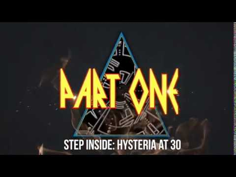 def leppard   -  step inside hysteria at 30 part 1