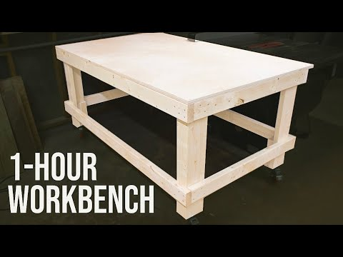 the-1-hour-workbench-/-outfeed-table-//-woodworking-diy