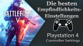 Battlefield V - Die besten Empfindlichkeitseinstellungen + Zielhilfe - PS4 Controller Settings #002
