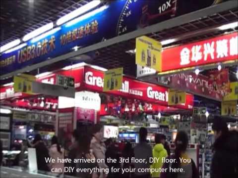 Electronic Store in Wuhan.wmv