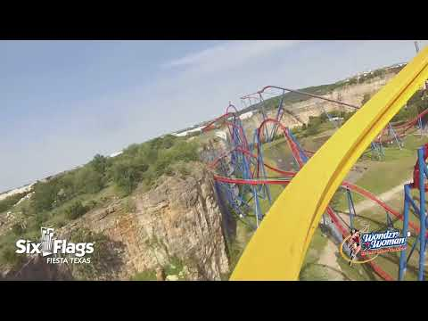 WONDER WOMAN Golden Lasso Coaster POV