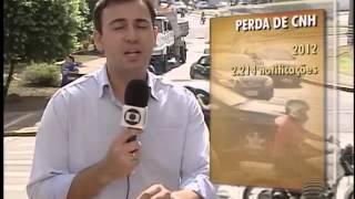 TV Fronteira - Aumenta o número de motoristas que devem perder a CNH em Presidente Prudente