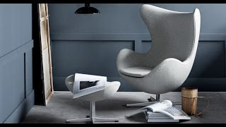 видео Кресло Egg Chair (Arne Jacobsen Style) A217