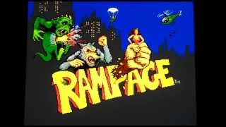 Rampage Series: All Playable Monsters