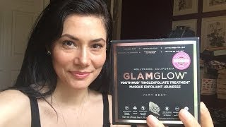 Review:  GlamGlow Youthmud Tinglexfoliate Treatment Thumbnail