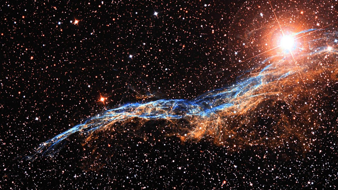 Zooming In On The Veil Nebula