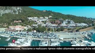 SAN FELICE CIRCEO VISTO DA UN DRONE