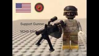 Lego Soldiers - Modern Warfare (BF4 And MW3)