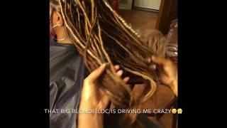 How to do super easy goddess locs, faux locs, goddess faux locs