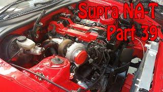 Toyota Supra NA-T Turbo Conversion - Part 39 - Intercooler Mounted
