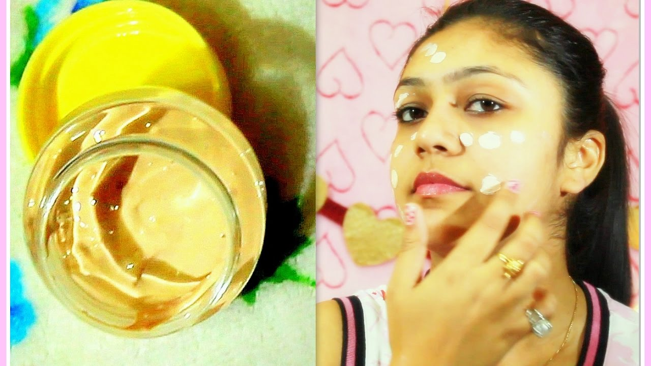 how to make your own face cream at home